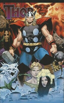 Marvel Thor comic issue 604 Limited fold out cover variant
