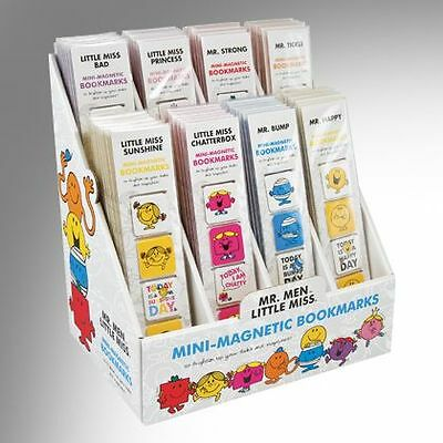 NEW! Mr Men & Little Miss Mini Magnetic Bookmarks - Various Designs