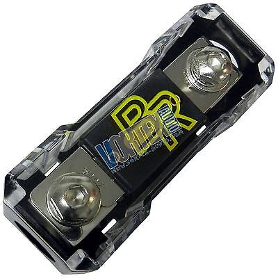 Bass Rockers 200AMP ANL Fuse Holder Box 0GA/4GA Gauge Awg 1 In/Out Fuse Included
