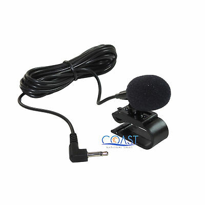 Car Radio 2.5MM External Microphone Mic for Bluetooth GPS DVD Stereo Receiver