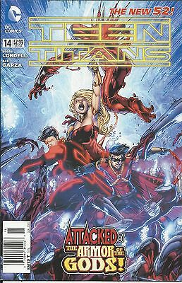 DC Teen Titans comic issue 14 The new 52!