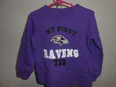 133f674be New-Minor Flaw Baltimore Ravens Toddler Size 3T Shirt by NFL Team Apparel