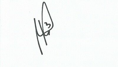 A 5 x 3 inch white card. Personally signed by Andre Wisdom of Norwich City.
