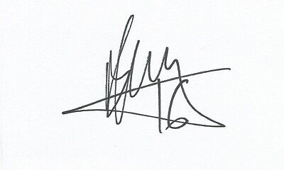 A 5 x 3 inch white card. Personally signed by Matt Jarvis of Norwich City.