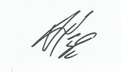 A 5 x 3 inch white card. Personally signed by Vadis Odjidja-Ofoe of Norwich City