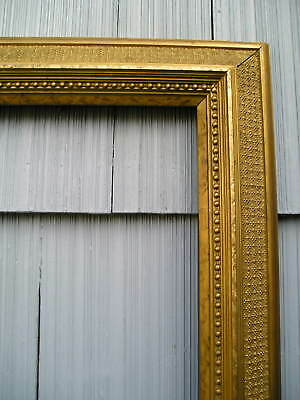 Antique Aesthetic Eastlake Victorian Gold Rare No 118 Picture Frame