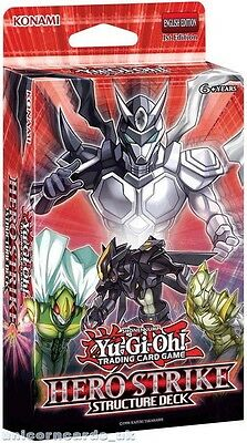 YuGiOh! Structure Deck: HERO Strike  ::  Cards + Game Mat + Guide - No Box