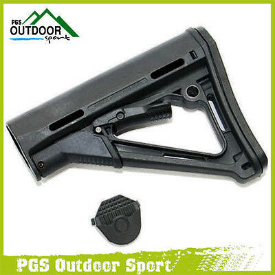 Tactical CTR Stock Black For AEG Free Shipping