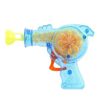 Kids Colorful  Bubble Machine Outdoor Funny Playing Toy with LED Light AAU