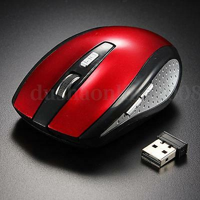SOURIS Sans Fil Optique 2,4Ghz USB Recepteur Wireless Mouse Pr win7/10 PC Laptop