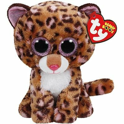 Ty Beanie Boo - Patches the Brown Speckled Leopard Plush Toy