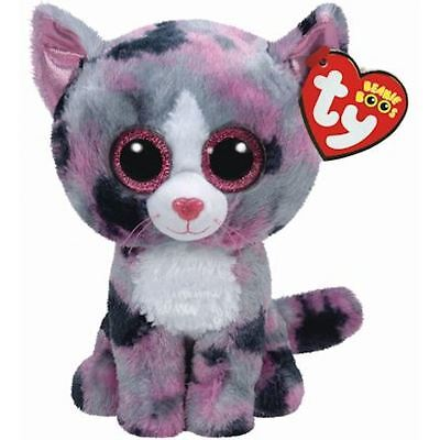 Ty Beanie Boo Buddy - Lindi the Cat Soft Plush Collectable Animal Toy BNWT