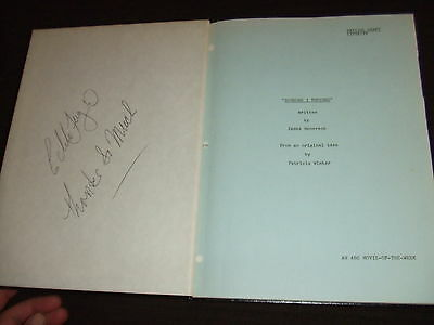 RARE 1974 Someone I Touched ABC MOW Script Cast Leachman SIGNED HC Bound FOY III