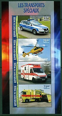 Niger 2016 Special Emergency  Transport Sheet Mint Never Hinged