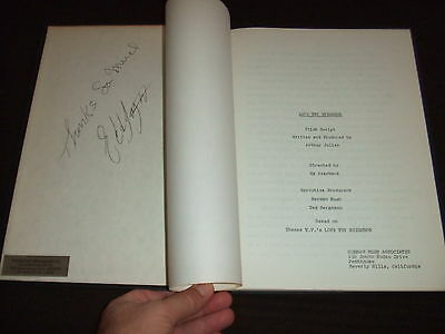 SIGNED 1972 Love Thy Neighbor Touch Of Grace PILOT Scripts Cast HC Bound FOY III