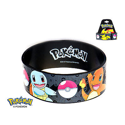 Pokemon Main Characters Youth Silicone Bracelet PMMAINBR01
