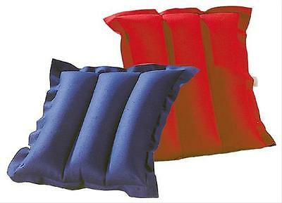 Wehnke Cushion inflatable / Reversible pillow Cotton blue / red