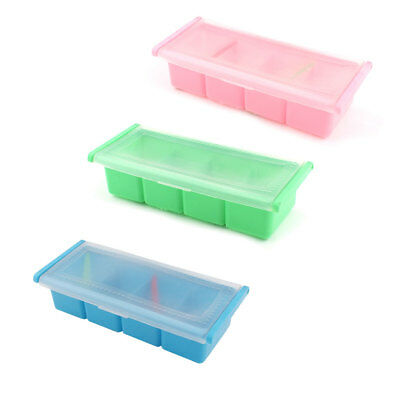 Home Kitchen 4 Compartments Lattices Condiment Spices Container Box Holder