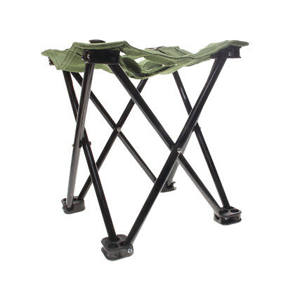 Portable Fold Fishing Stool Pocket Chair Collapsible Camp Beach Seat