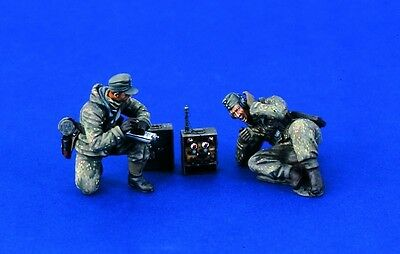 VERLINDEN PRODUCTIONS #1240 WWII German Military Radio Team in 1:35