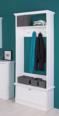 landhaus garderobe dielenschrank flurgarderobe. Black Bedroom Furniture Sets. Home Design Ideas