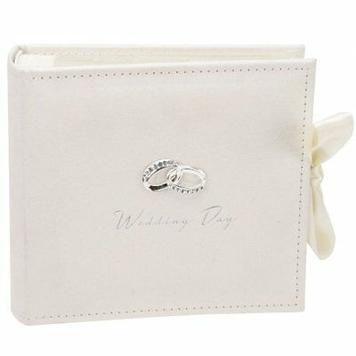 Amore Suede Wedding Photo Album Hold 100  Photos WG273