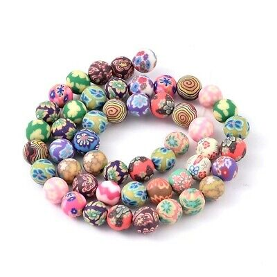 Pcs Art Hobby DIY Jewellery Making Crafts Wood Round Beads 8mm Mixed 200