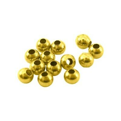 Packet of 200+ Antique Gold Brass 3mm Round Spacer Beads HA15895