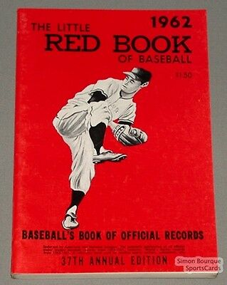 Rare 1962 Baseball Spalding's The Little Red Book