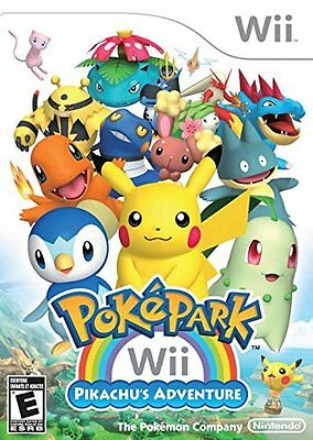 PokePark Wii: Pikachu's Adventure [Nintendo Wii, NTSC Video Game] NEW