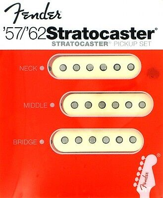 Fender Stratocaster 57/62 Pickup Set New Nuovo American Reissue 0992117000