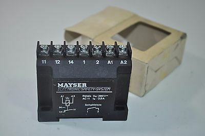 Mayser Electronic Safety System Control Unit Module Relay Part# SG-RS-131