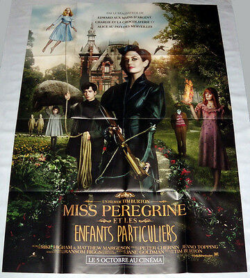 MiSS PEREGRiNE'S HOME FOR PECULiAR CHiLDREN Burton Eva Green LARGE French POSTER