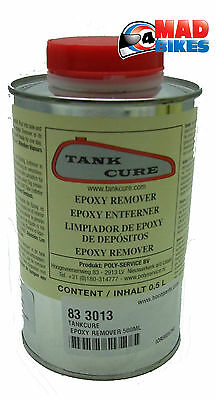 TankCure Epoxy Resin Sealer Remover for Fuel / Petrol Tanks. Classic Bike 500 ml
