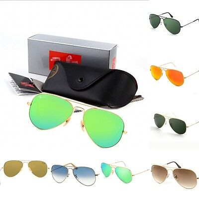 New Womens Mens Vintage Sunglasses Polarized Driving Sports Flying UV400 Glasses