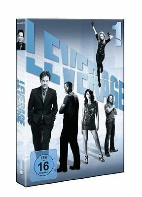 3 DVDs * LEVERAGE - STAFFEL 1 # NEU OVP §