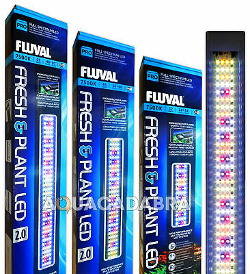 Fluval Fresh & Plant Led 2.0 Lighting Lamp Full Spectrum Aquarium Fish Tank