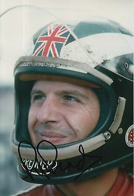 Phil Read Hand Signed 12x8 Photo MotoGP Isle of Man TT 5.