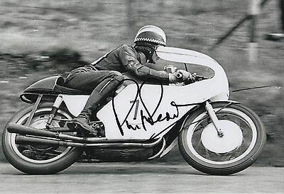 Phil Read Hand Signed 12x8 Photo MotoGP Isle of Man TT 9.