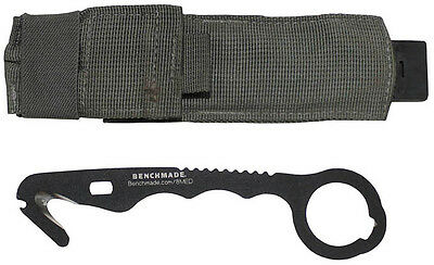US Benchmade 8 HOOK Medic Rescue Tool PREPPER Strap Army Cutter Knife Messer