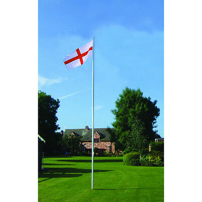 Flagpole - 6 metres and FREE Flag