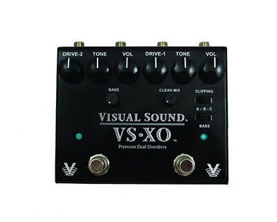 Visual Sound VSXO Dual Channel Overdrive Guitar Pedal