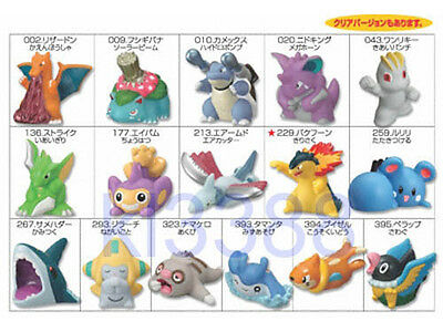 Bandai Pokemon Kids Collection Kimewaza Series Trading Figure P5 [16 pcs set]