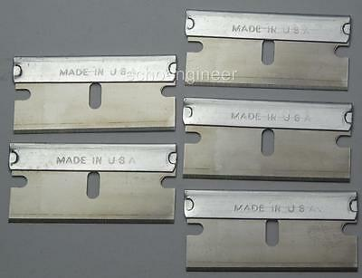 10 x SINGLE EDGE RAZOR BLADES MADE IN THE USA