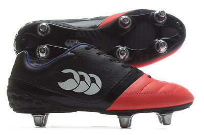 Canterbury Phoenix Club 6 Stud SG Junior Rugby Boots Sizes:(UK 1 - 5) E22384-98A