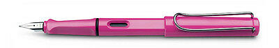 Lamy Safari Pink limited edition Fountain Pen - model L13PKM (Medium)