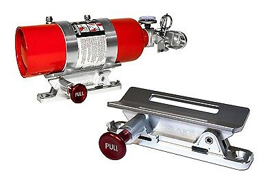 Fire Extinguisher Mount  SILVER Challenger Charger LX  Scott Drake