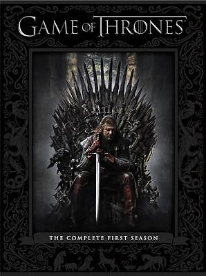 Game of Thrones Complete 1st Season HBO Original Series DVDs Winner 2 Emmys NEW