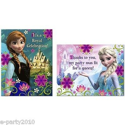 disney frozen invitations thank you cards birthday party