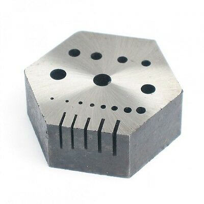 Hexagon staking & Riveting Anvil Jewelry Watch Silversmiths Tool forming Shaping